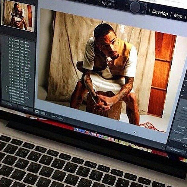 Chris Brown pour Notion Magazine