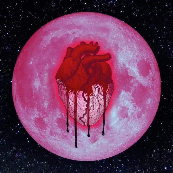 "La pochette officielle de l'album ""HeartBreak On A Full Moon"""