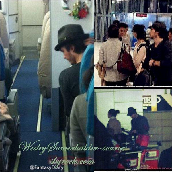 28/12/12 Ian et Nina quittant Shangai