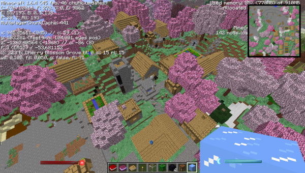 Villages et Biome O'Plenty