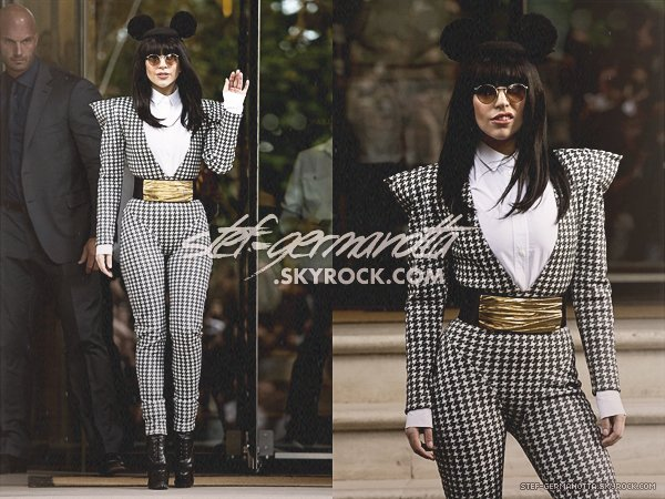 www.stef-germanotta.skyrock.com _• Article 2 : Lady Gaga aperçue aujourd'hui à la sortie de son hôtel à Londres.