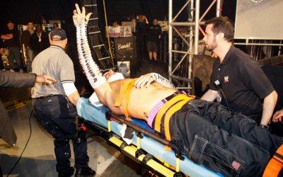 Jeff Hardy contre Randy Orton