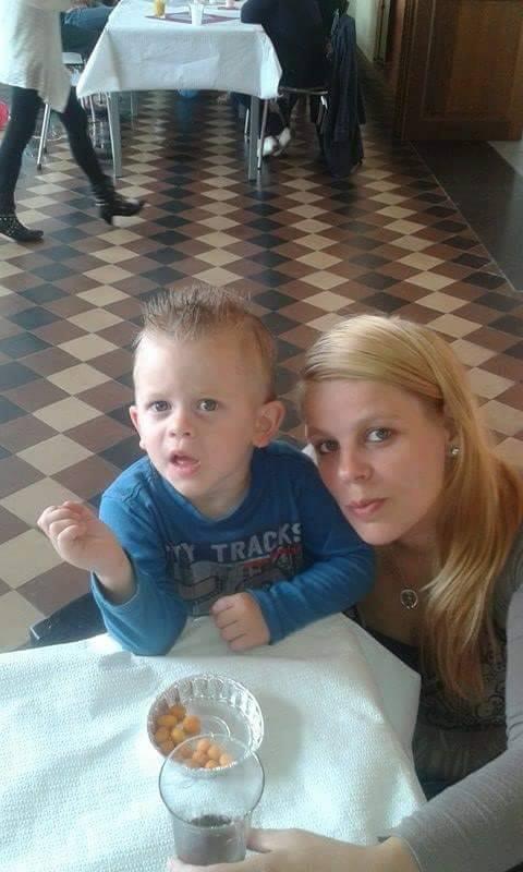 moi angel et mon fils