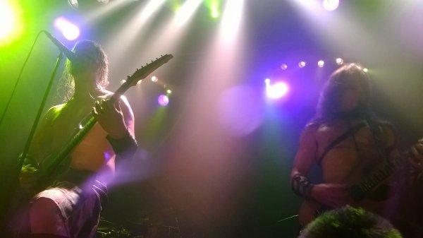 Live Report *ENSIFERUM + FROSTTIDE + DER WEG EINER FREIHEIT* (28/01/14) Ninkasi Kao, Lyon