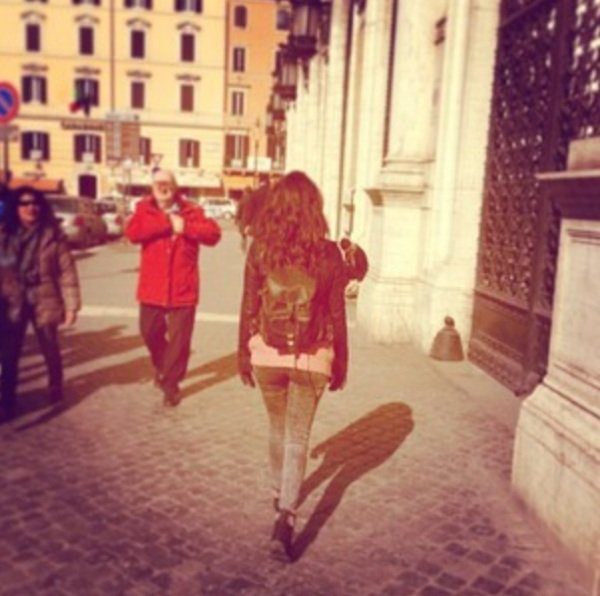 Photo/Instagram : TAL à Rome.