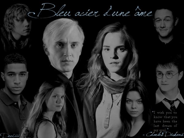 Le bleu acier d'une âme.