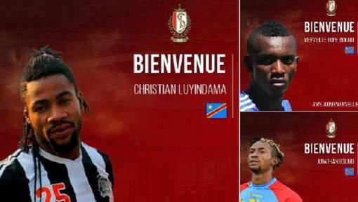 Trois joueurs du TP Mazembe en prêt au Standard