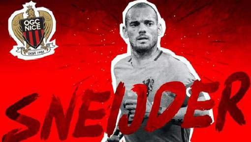 L'OGC Nice officialise l'arrivée de Wesley Sneijder