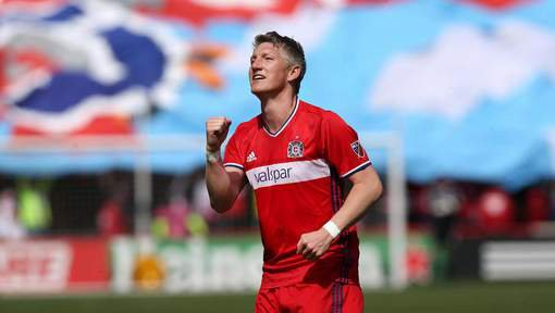 Schweinsteiger poursuit son aventure américaine au Chicago Fire