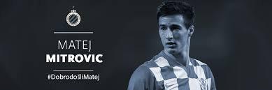 Le défenseur croate Matej Mitrovic en prêt à Bruges