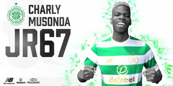 Musonda Jr prêté au Celtic Glasgow