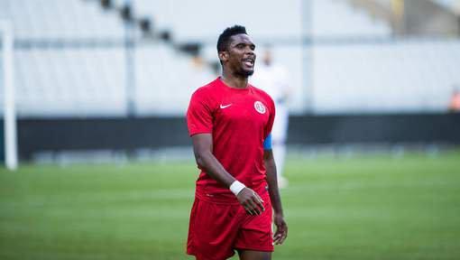 Samuel Eto'o quitte Antalyaspor et rejoint Konyaspor