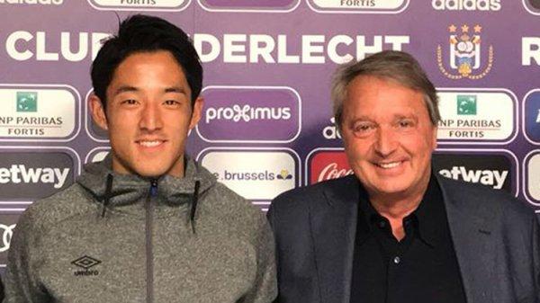 Morioka débarque à Anderlecht
