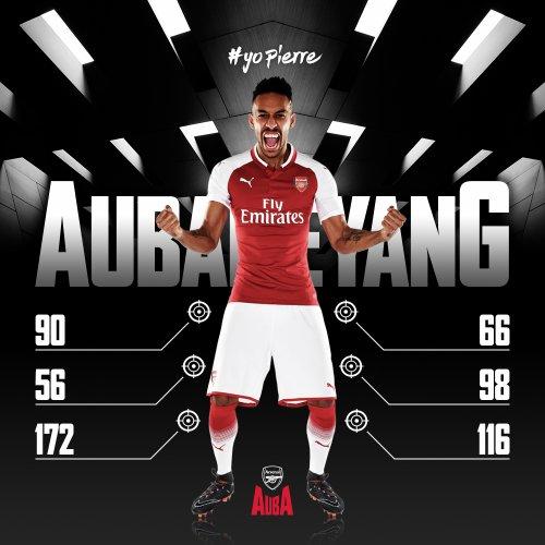 Aubameyang à Arsenal, c'est officiel