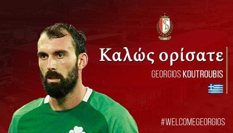 Georgios Koutroubis Rejoint le Standard De Liege