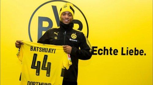 Batshuayi prêté pour six mois, sans option d'achat, au Borussia Dortmund