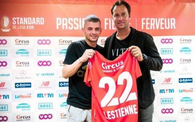 C'est officiel, Maxime Lestienne a signé au Standard