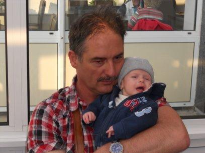 X- mon ange et oncle Jean à la mer du Nord-X