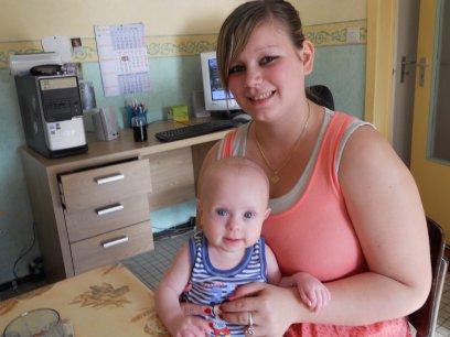 X-Lucas et ma cousine Leslie-X