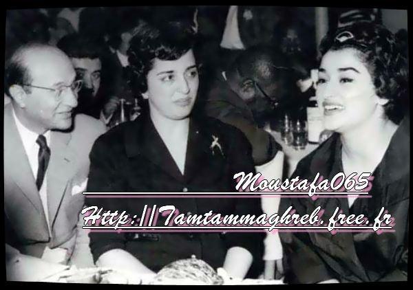 Warda & Abdelwahab au Liban 1957