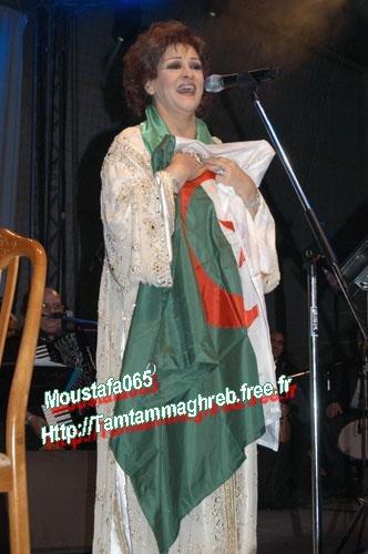 Warda à Biskra 2007  وردة في بسكرة
