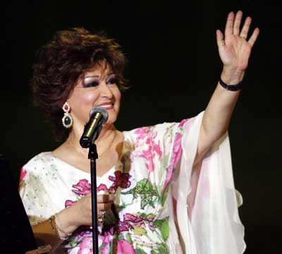 Warda au Festival international de Carthage 2009