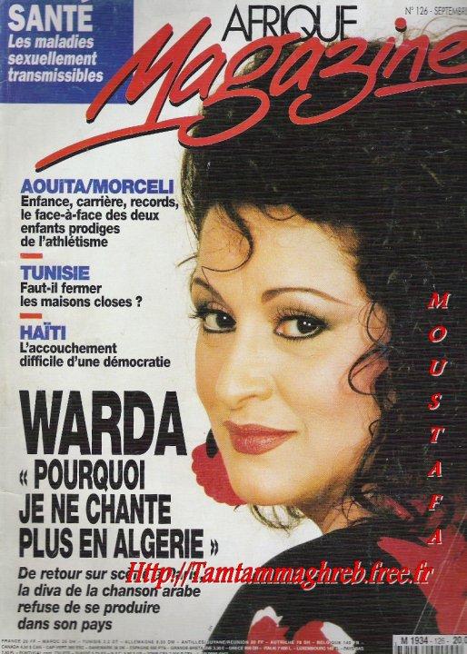 WARDA : Afrique Magazine