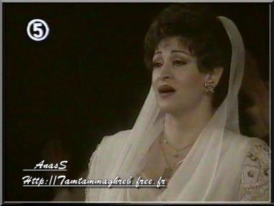 وردة الجزائرية  والأغنية الدينية