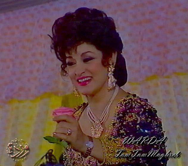 Warda au Maroc وردة في حفل الرباط عام ١٩٩٣