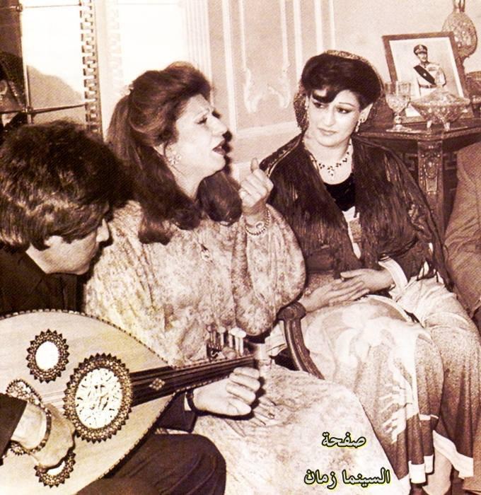 وردة مع فايزة أحمد ومحمد سلطان