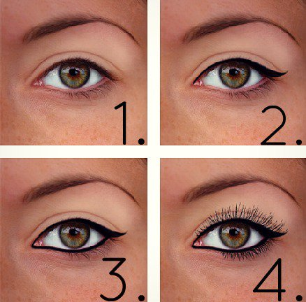 maquillage yeux petites paupieres