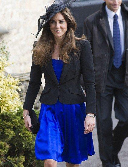 Robe bleu et veste