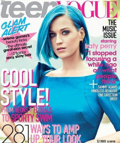 Katy Perry pour le magazine Teen VOGUE