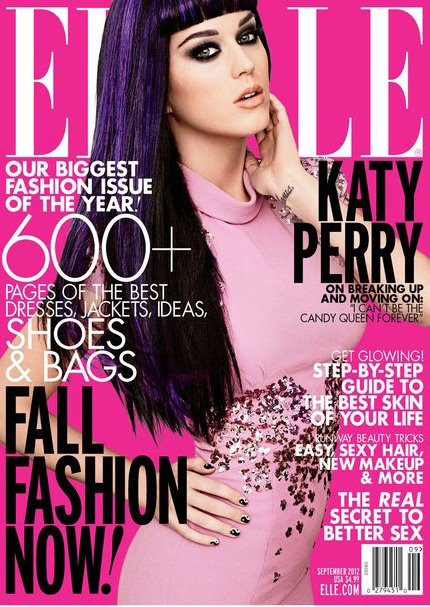 Katy Perry pour ELLE