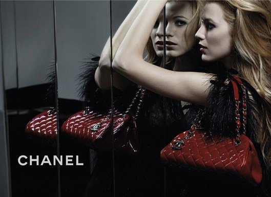Blake Lively pour Chanel