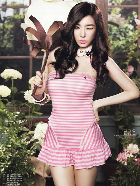 Suite des photos de Tiffany pour le magazine CéCi