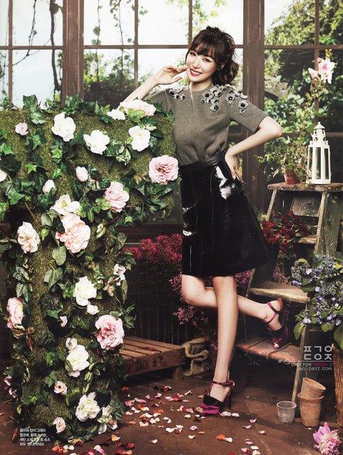 Tiffany des Girls' Generation pour le magazine CéCi