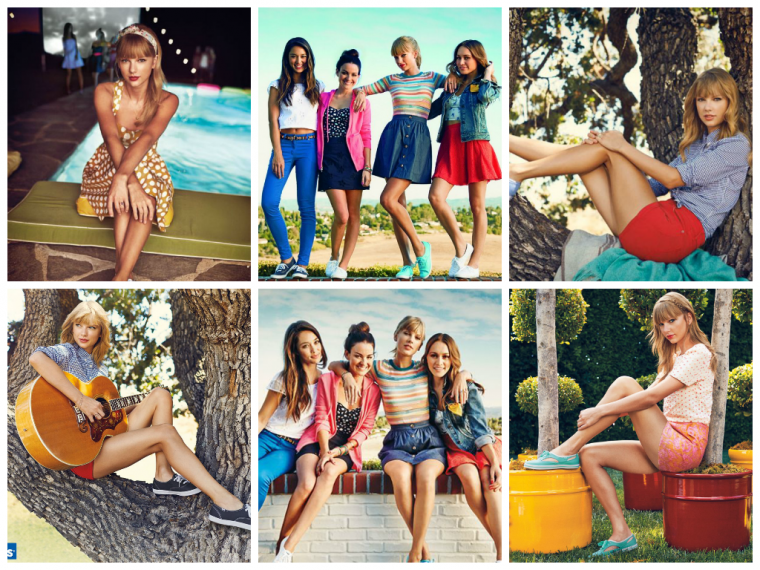 TAYLOR SWIFT - PHOTOSHOOT POUR KEDS SPRING 2014 CAMPAIGN