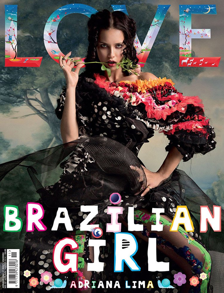 LOVE MAGAZINE COVERS 2014