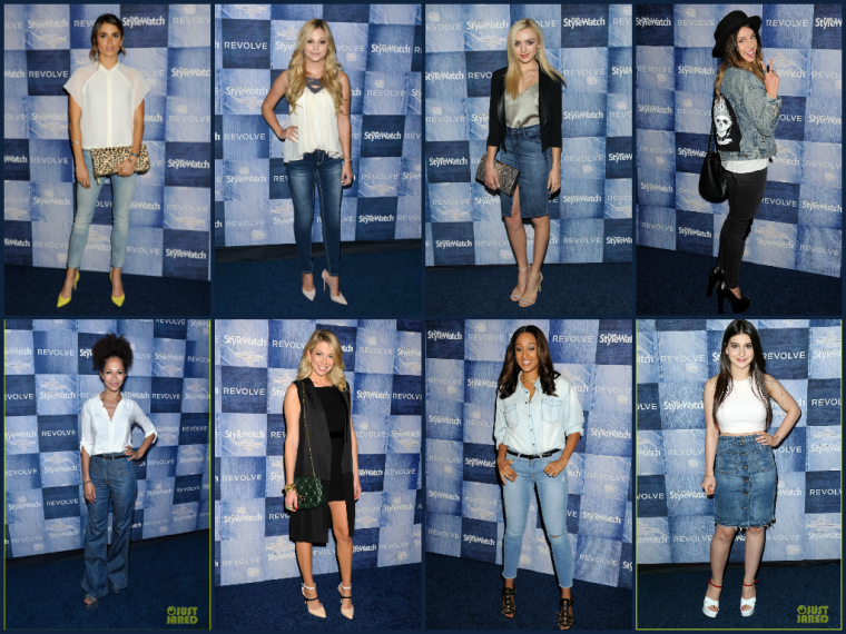 PEOPLE STYLE WATCH DENIM EVENT