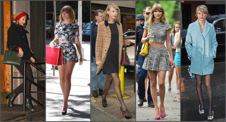 FEMMES DE L'ANNÉE 2014 - TAYLOR SWIFT EN 5e POSITION !