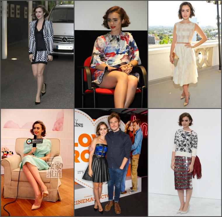 FEMMES DE L'ANNÉE 2014 - LILY COLLINS EN 2e POSITION !