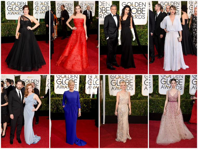 GOLDEN GLOBES AWARDS 2015 - PART 1.