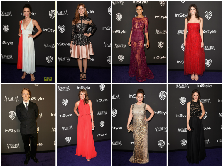 INSTYLE & WARNER BROS. GOLDEN GLOBES AFTER-PARTY 2015 - PART 1.