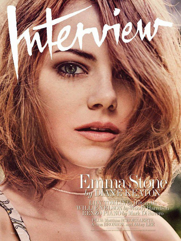 EMMA STONE POUR INTERVIEW MAGAZINE