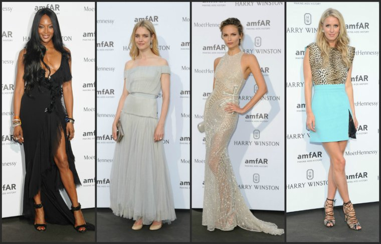 AMFAR DINNER PARIS 2015 - FASHION WEEK