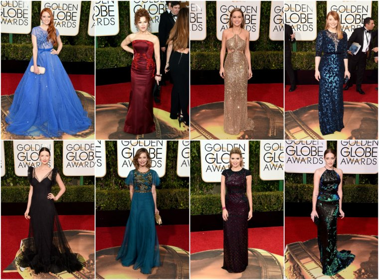 GOLDEN GLOBE AWARDS 2016 - PART 1.