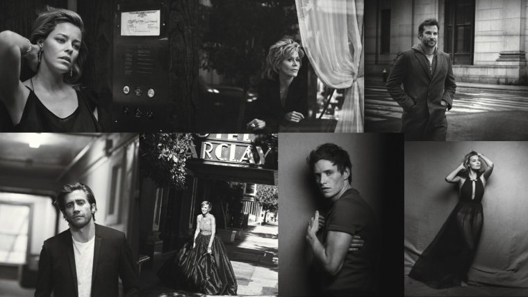 W MAGAZINE - THE MOVIE ISSUE BY PETER LINDBERGH