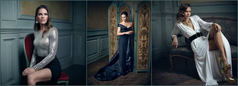 MARK SELIGER'S PORTRAITS - VANITY FAIR OSCAR PARTY 2016