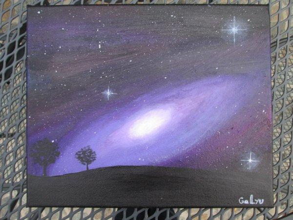 Peinture et croquis / Pluie de guêpes